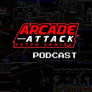 Album art for Arcade Attack Retro Gaming Podcast