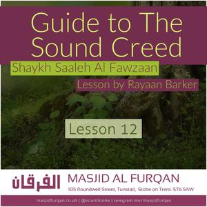 Listen to 12 - A Guide To Sound Creed - Rayaan Barker | Stoke