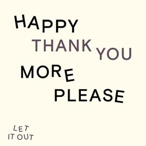Listen to *NEW SERIES* happy thank you more please with Josh Radnor