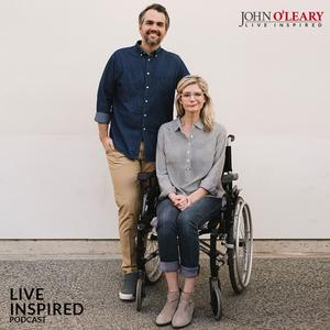 Listen to Katherine + Jay Wolf: Finding Joy While Suffering (ep. 258)