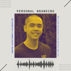 Listen to Nodes of Design#47: Personal Branding by Jonathan Javier