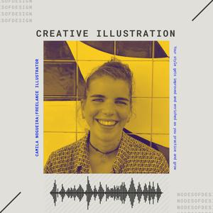 Listen to Nodes of Design#48: Creative Illustration by Camila Nogueira