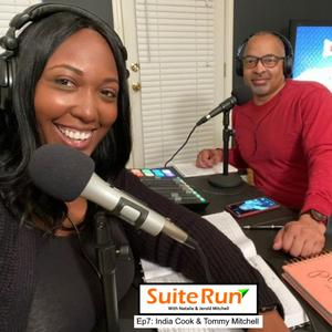 Listen to 7 | Atlanta, GA with India Cook and Tommy Mitchell (The Run Duo): Running in the