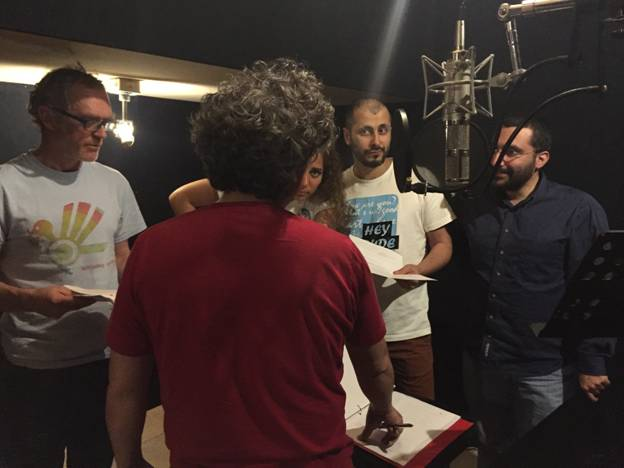 Podcasting production MENA